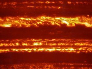In preparation for the imminent arrival of NASA's Juno spacecraft, astronomers used ESO's Very Large Telescope to obtain spectacular new infrared images of Jupiter using the VISIR instrument, via ESO/L. Fletcher
