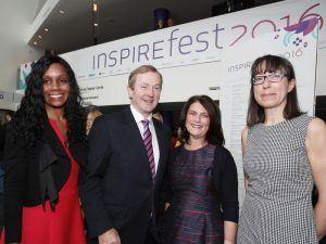 Enda Kenny at Inspirefest 2016