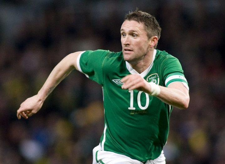 Ireland's Robbie Keane