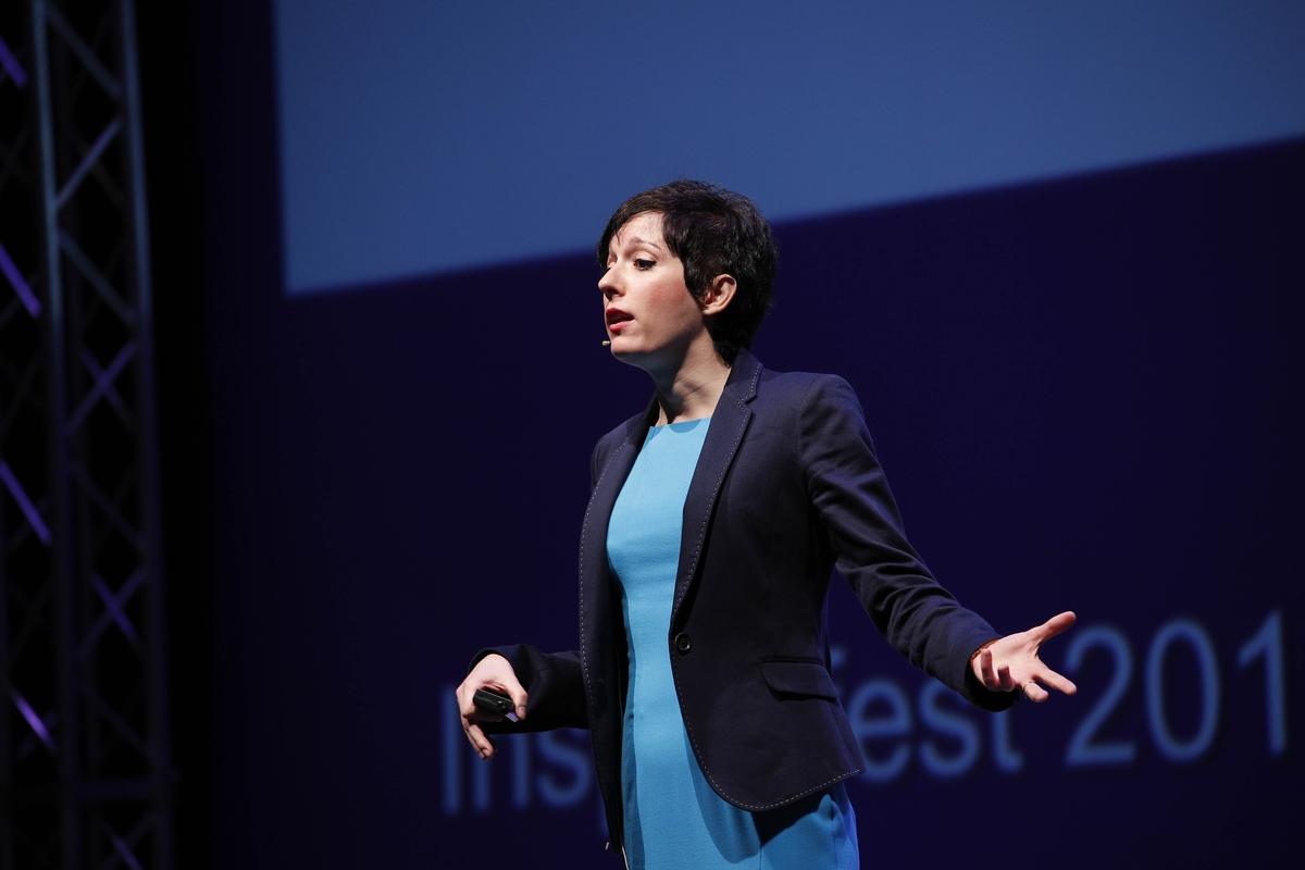 Dr Charlotte Blease, Inspirefest 2016