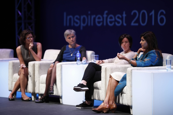 Sharing economy panel at Inspirefest