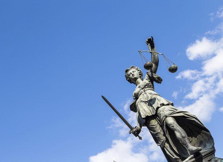 Microsoft: lady justice