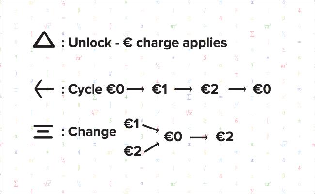 Maths: lockscreen notification