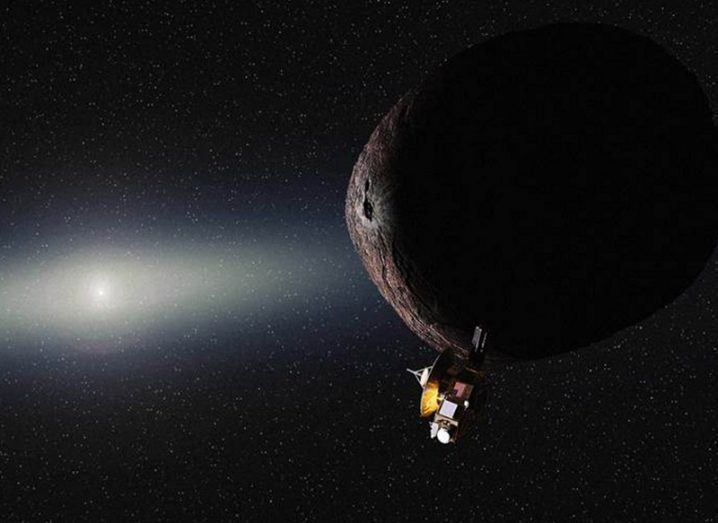 New Horizons Kuiper Belt