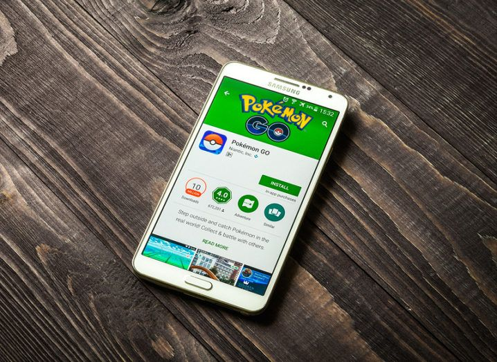 Pokémon Go in Play Store