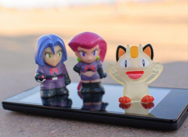 Pokémon Go player