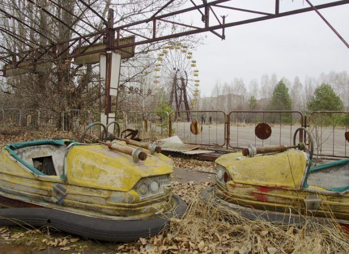 Ghost towns: abandoned fairground, Pripyat