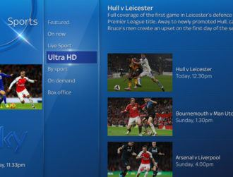Sky to launch Ultra HD just in time for the Premier League kick-off