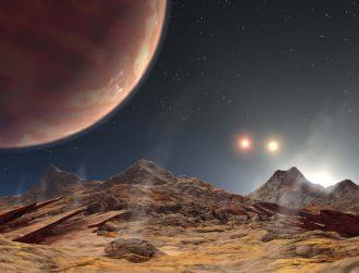 Distant planet found with three daily sunrises and sunsets
