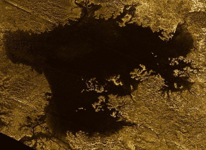 Titan surface