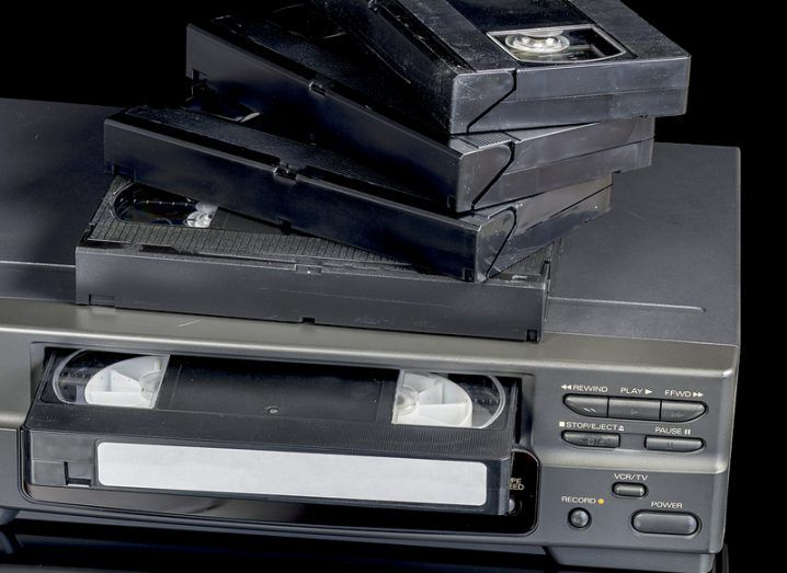 VCR and tapes