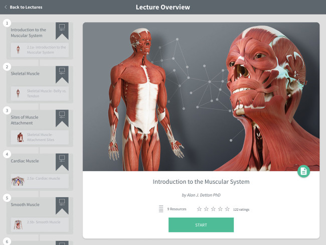 Complete Anatomy is aimed at transforming medical learning across the globe, via 3D4Medical