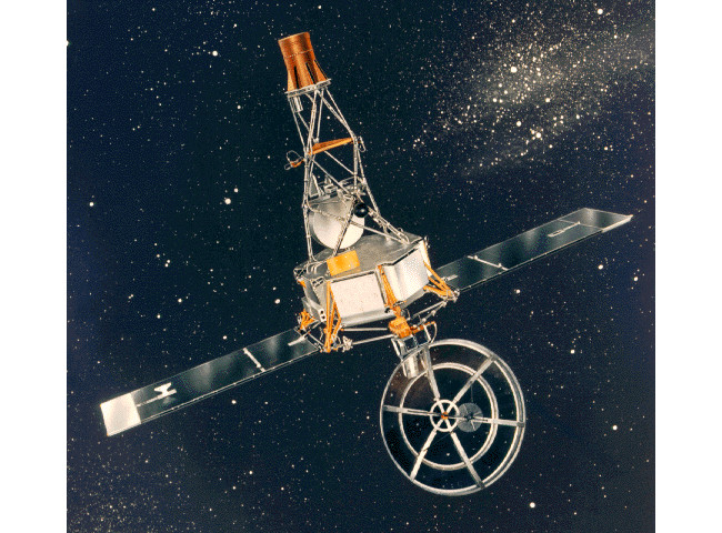 Mariner 2 image, via NASA