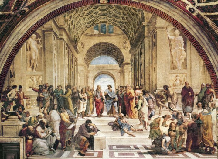 Maths: Raphael's School of Athens
