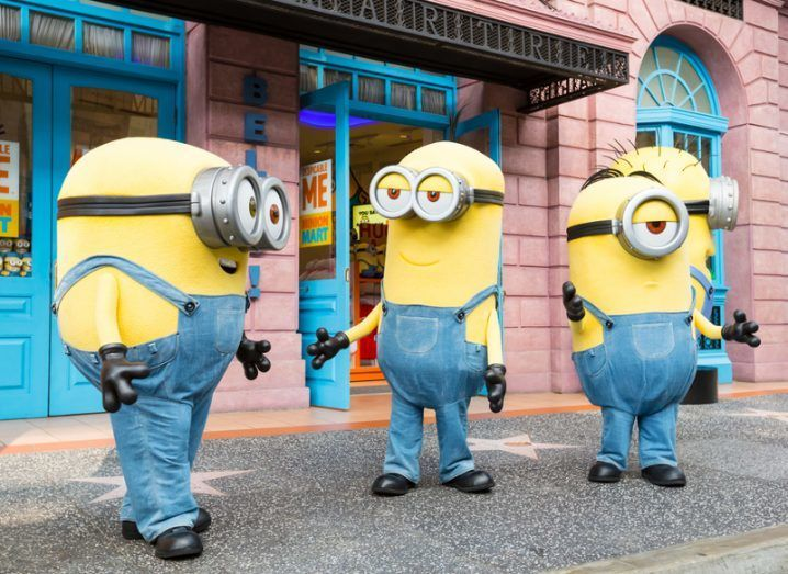 Maths: Minions hanging around looking shifty
