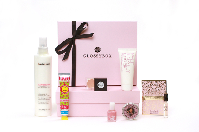 GlossyBox subscription package