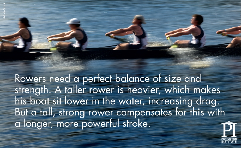 Rowers Physics of Olympics: How do they do that?