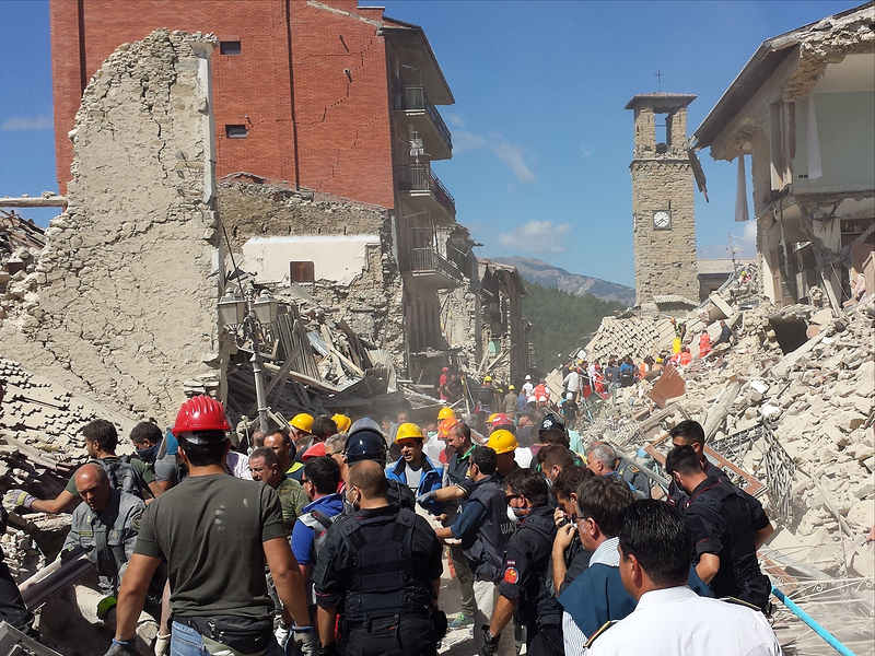 Red Cross asks people to unlock Wi-Fi passwords following Italy earthquake