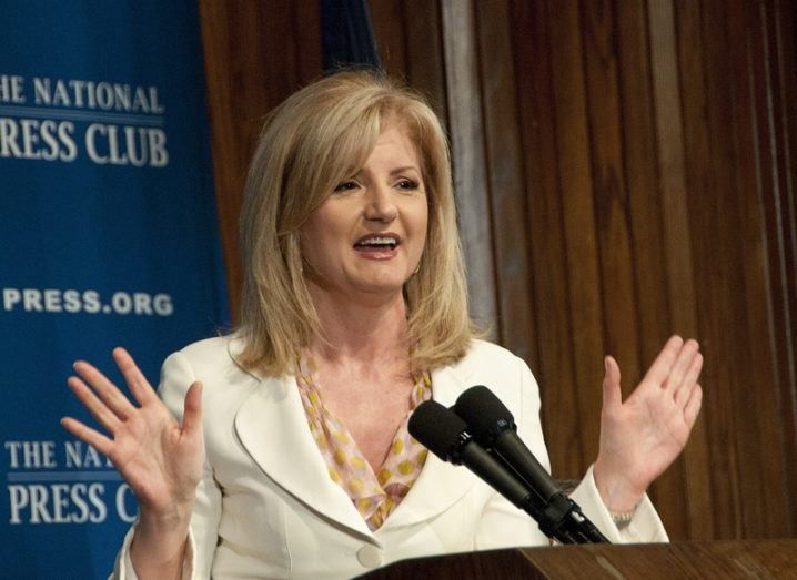 Arianna Huffington to step down from Huffington Post to lead start-up