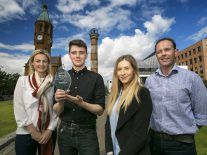 Alzheimer's platform wins young Belfast entrepreneur top prize