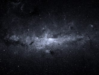 Barely-visible galaxy made from 99.9pc dark matter found