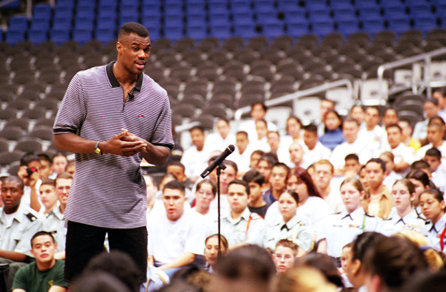 David Robinson – NBA stars turned tech investors