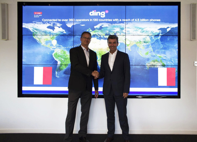 Dublin's Ding acquires French player TransfertCredit