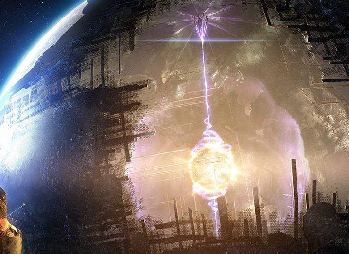 Alien megastructure Dyson Sphere