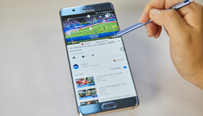 Everybody loves gifs, right? Galaxy Note 7. Image via Samsung