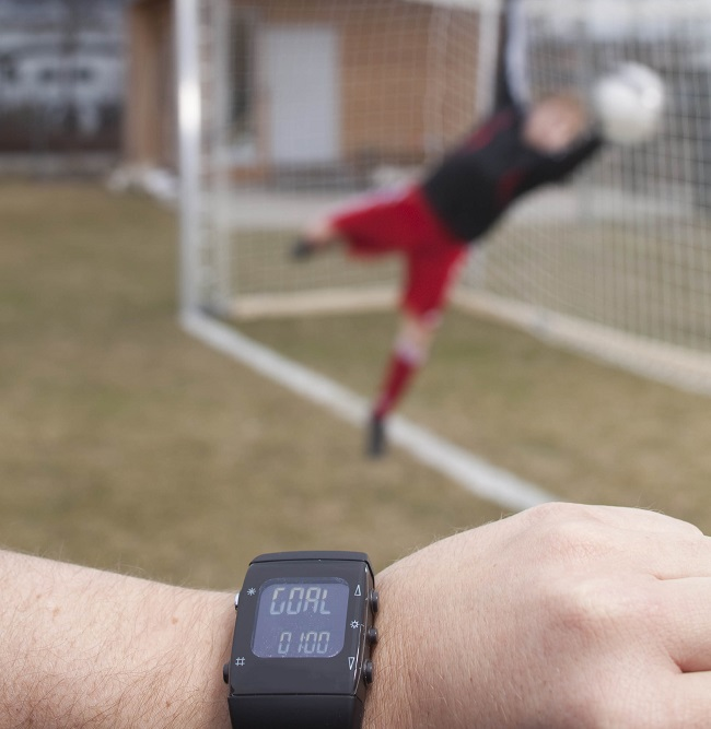 Caption: GoalRef technology in action. Image via Fraunhofer IIS