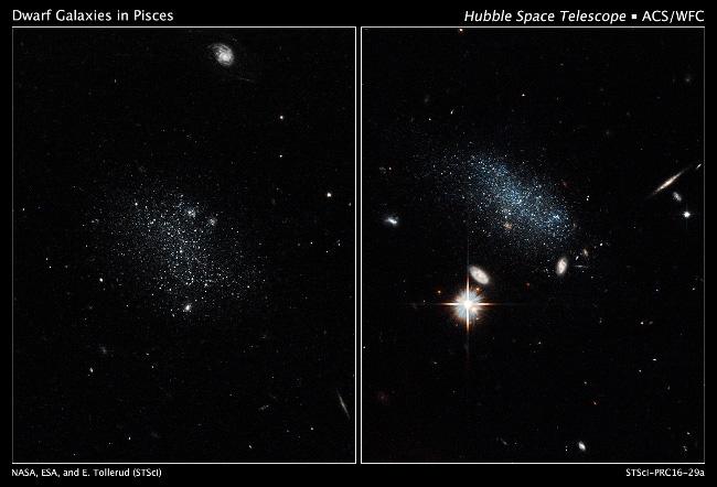 Hubble Dwarf Galaxy