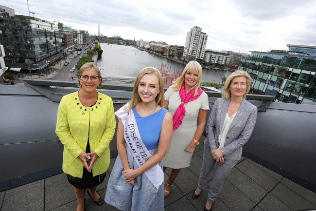 IBW Conf launch with Rose of Tralee