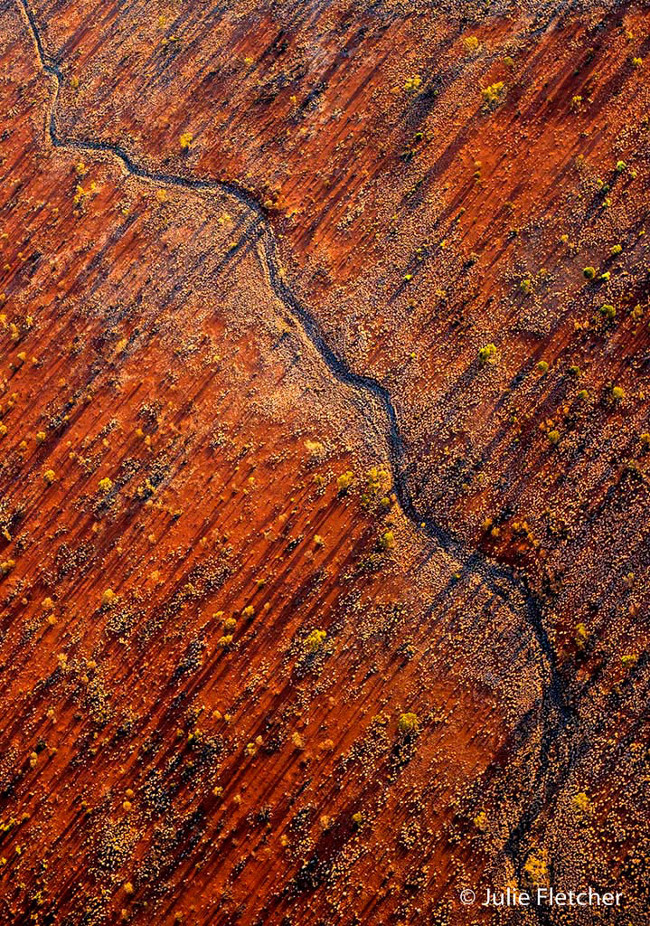 Winner: 'Desert Patterns' – Kata Tjuta, by Julie Fletcher Nature photography