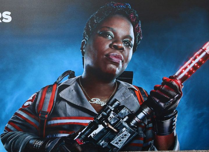 Leslie Jones Ghostbusters