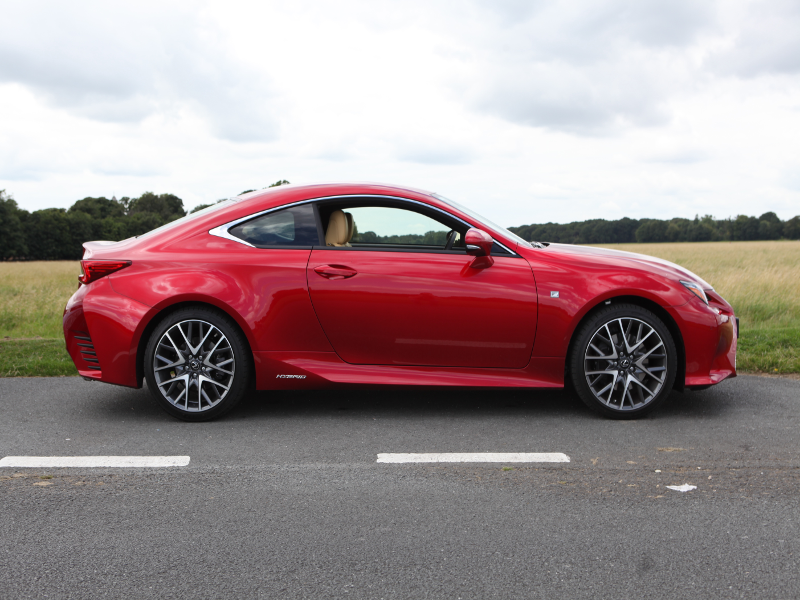 Lexus RC 300h review: A sporty coupe with a conscience