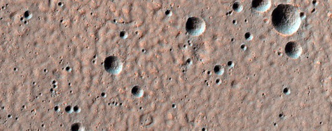 MRO 4 craters