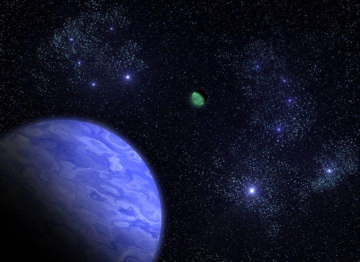 Solar system Neptune