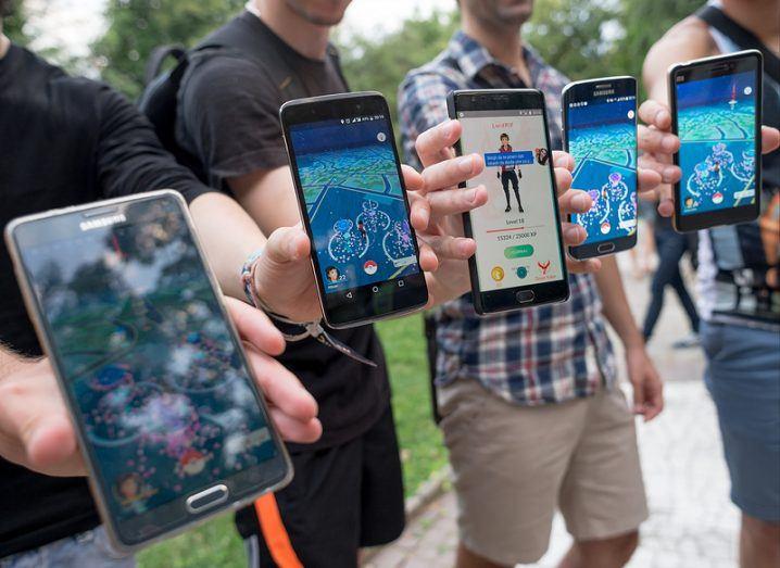 Pokémon Go players