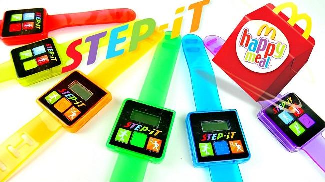 Step It! wearables