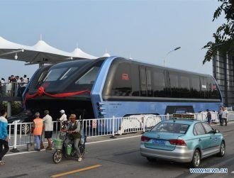 Is China's 'straddling bus' the next stage in city planning?