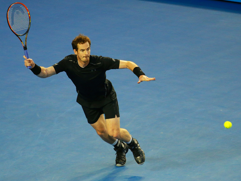 Andy Murray image via Leonard Zhukovsky/Shutterstock.com