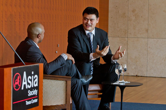 Yao Ming – basketball players turned tech investors