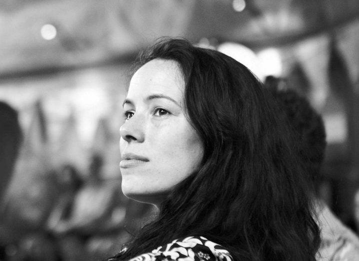 Irish artist Aoife van Linden Tol