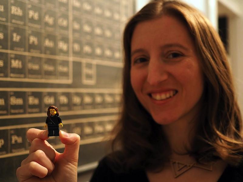 Maia Weinstock, NASA Lego women