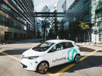 World's first-ever robo-taxis hit the streets in Singapore