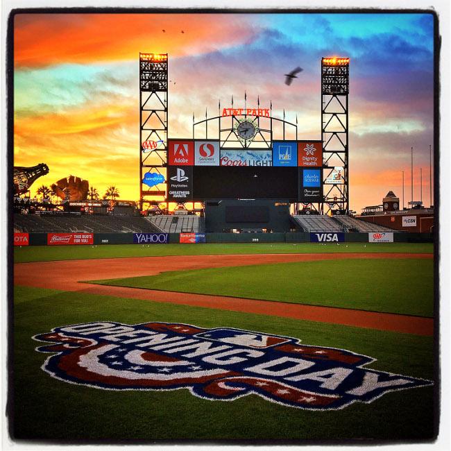 Opening Day in San Francisco, 2016. Image via Brad Mangin