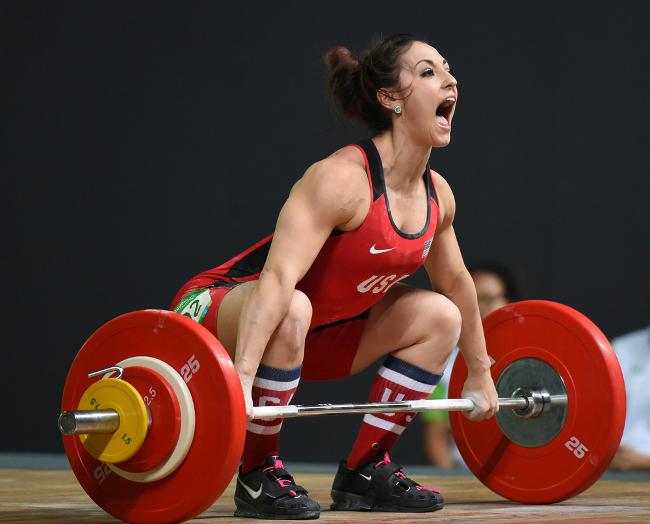 Weightlifting preparation prior to Rio, via A.RICARDO/Shutterstock