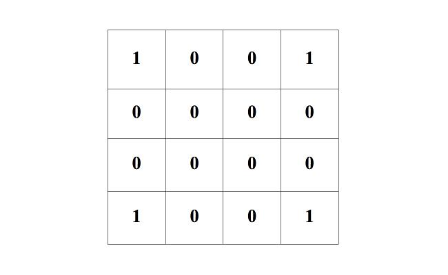 Maths: corners lit