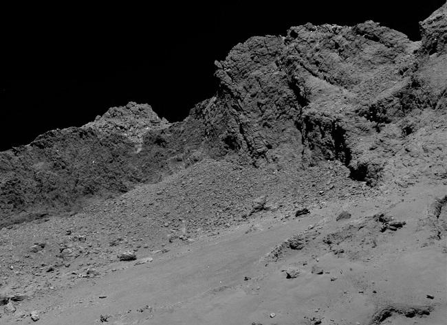 Comet at 16km