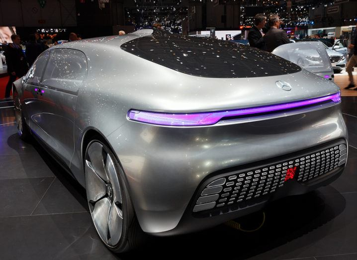 Aon report driverless concept car